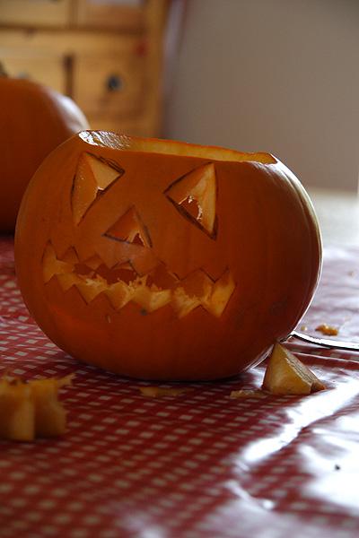 Pumpkincavring