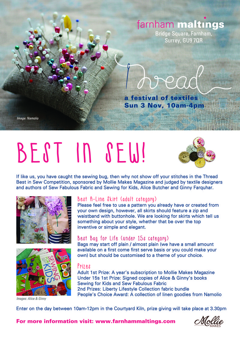 Best in sew a5 flyer